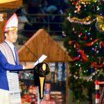 Jokowi: Selamat Hari Natal Saudaraku Umat Kristiani