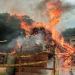 Polda Aceh Bakar 372 Kg Ganja dan Musnahkan 80 Kg Sabu dengan Molen Pengaduk Semen