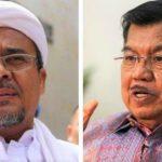 Mantan Wapres Jusuf Kalla: Habib Rizieq Shihab sebagai Pemimpin Karismatik