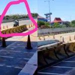 Viral Video Pengayuh Becak Masuk Tol Surabaya-Gresik: Ternyata karena Ingin Mudik