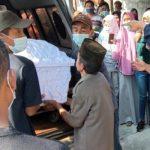 Ibu dan 2 Anaknya Korban Perahu Terbalik Waduk Kedungombo Dimakamkan Satu Liang